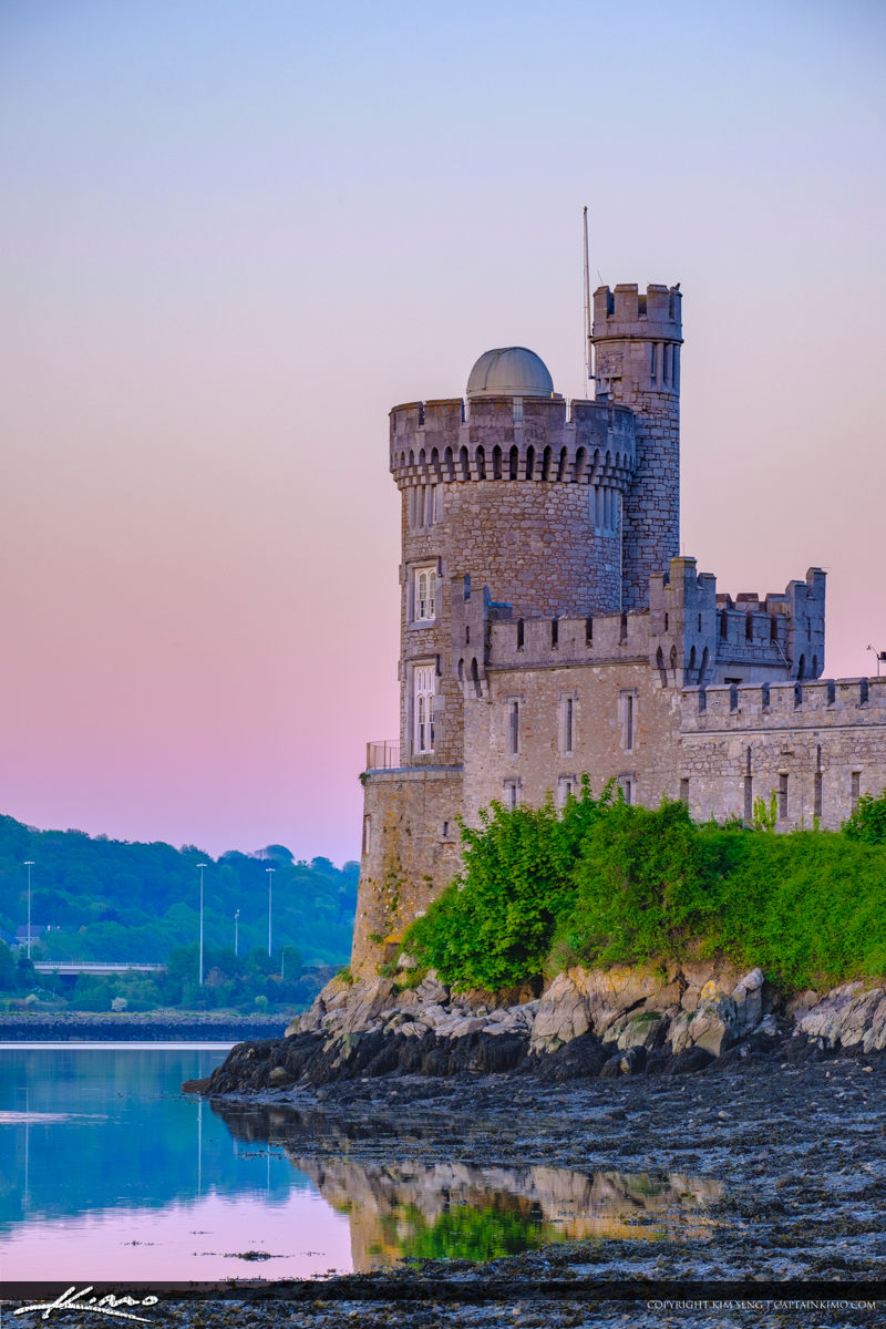 Blackrock Castle Cork Ireland Vertical View of Castle