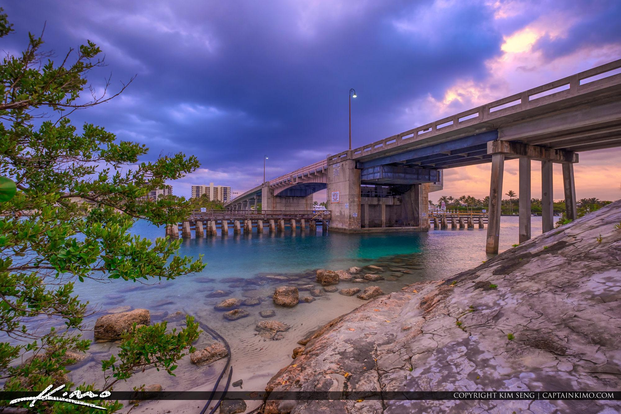 Katos Bridge Jupiter Florida to Jupiter Island