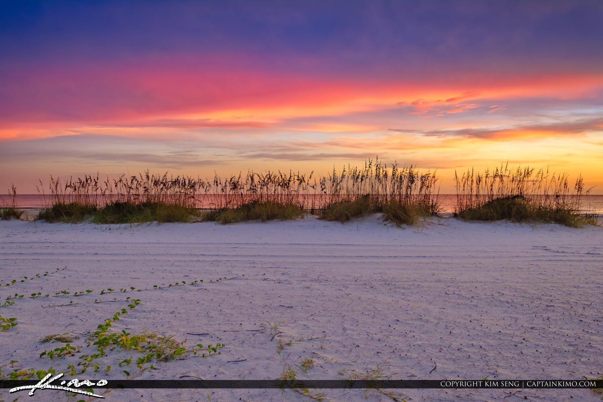 Anna Maria Island Florida Sunset at City Park Beach Manatee County