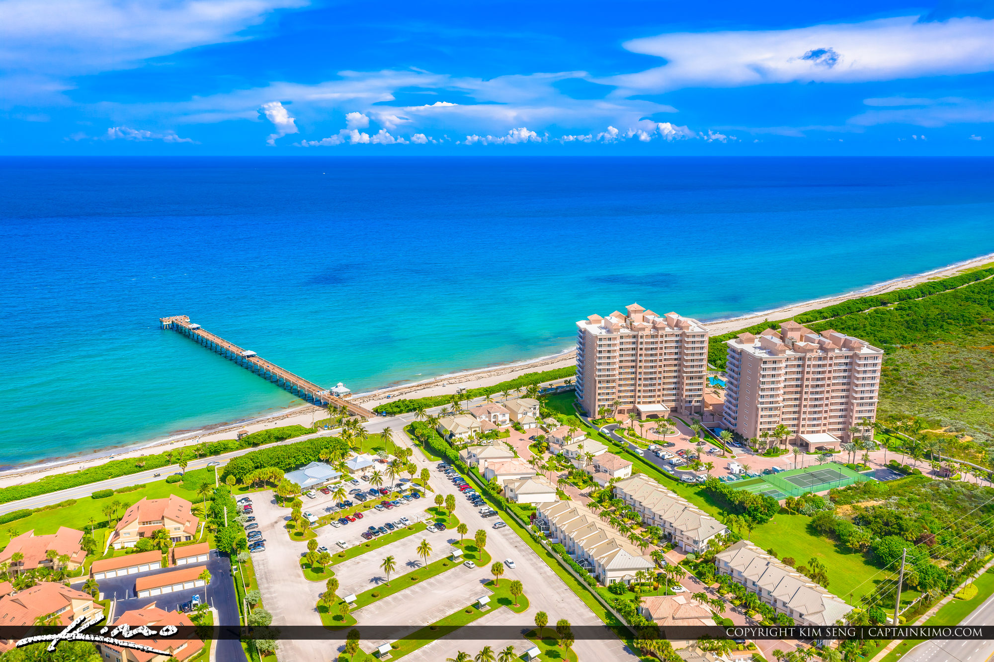 Juno Beach Bluewaters at the Pier Oceanfront Property Real Estate