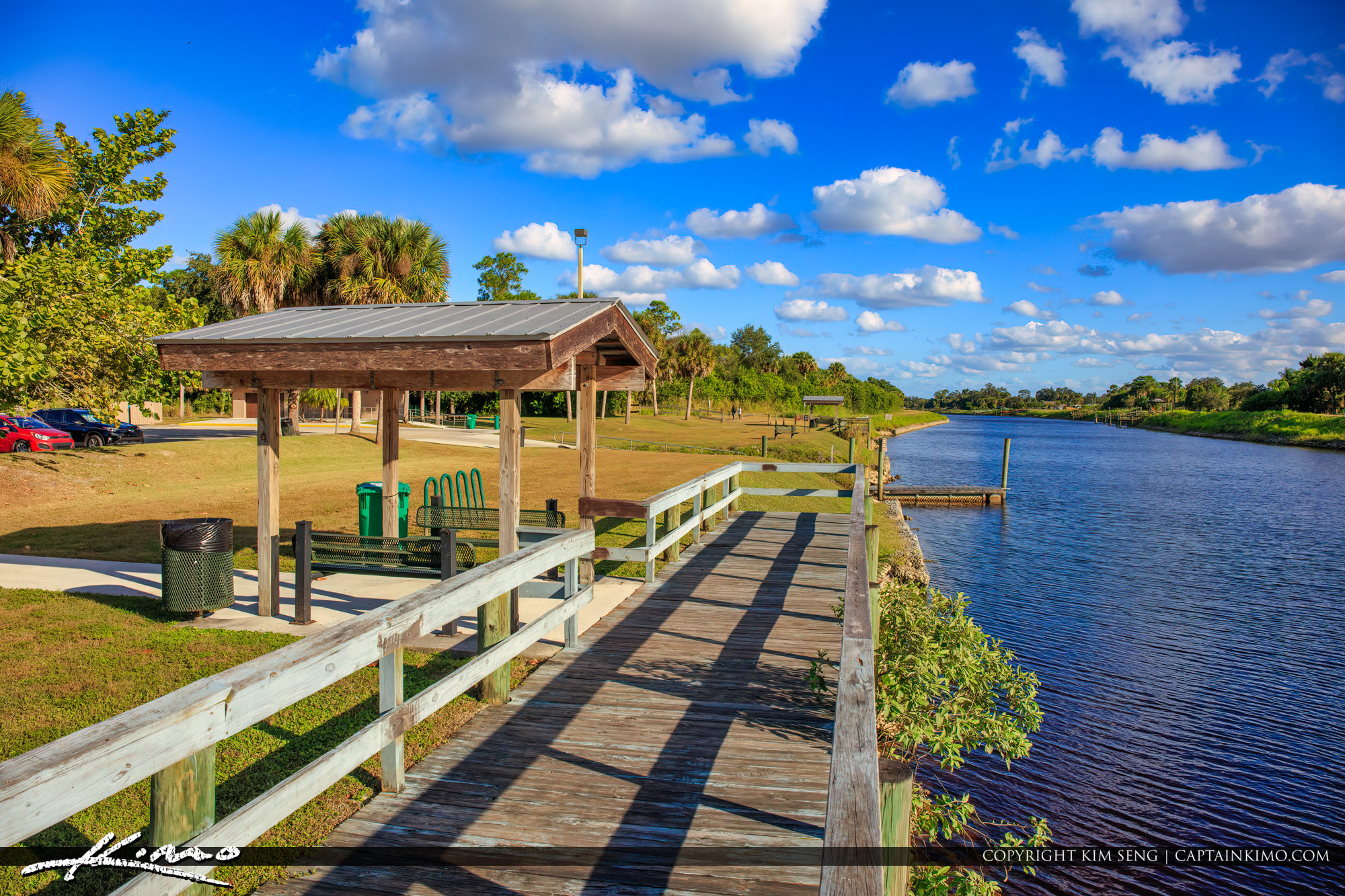 Dock at Oak Hammock Park Port St Lucie Florida
