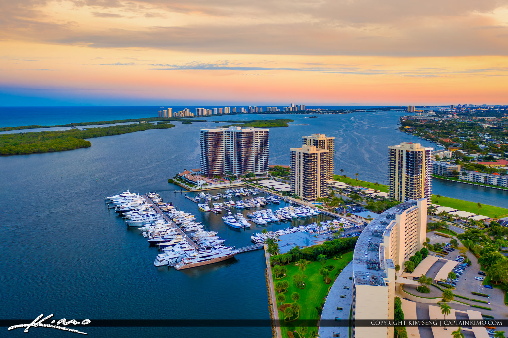 North Palm Beach Marina Old Port Cove Singer Island View