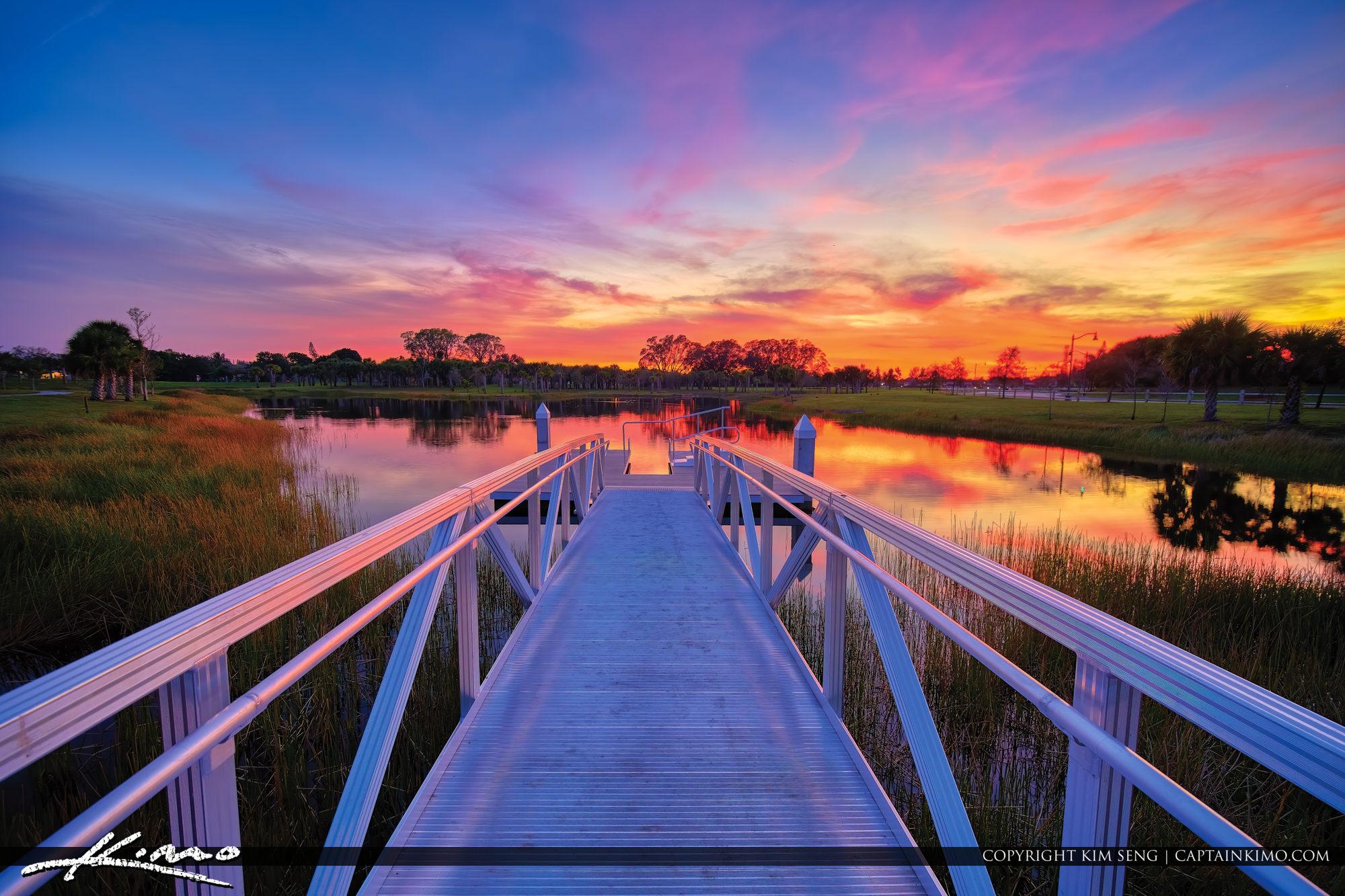 Sunset Royal Palm Beach Commons Park
