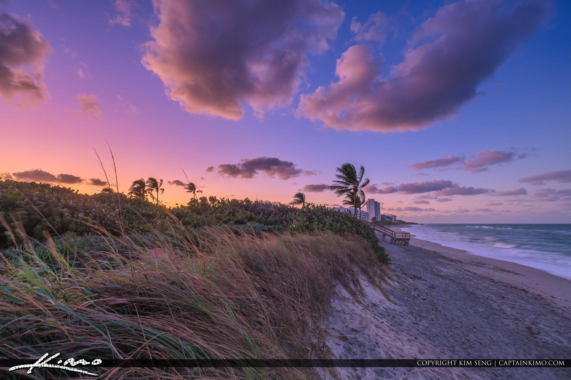 Coral Cove Beach Sunset Atlantic Ocean