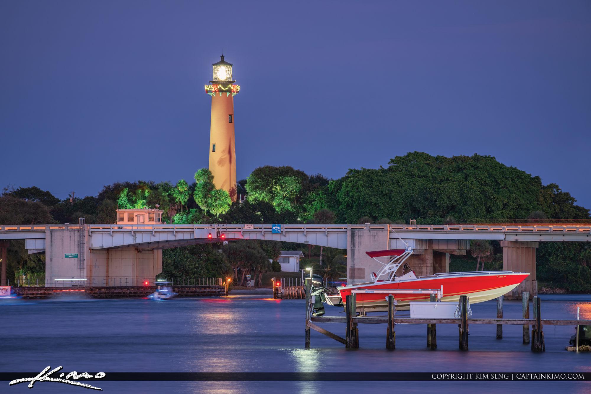 Happy Holidays Jupiter Lighthouse 2019
