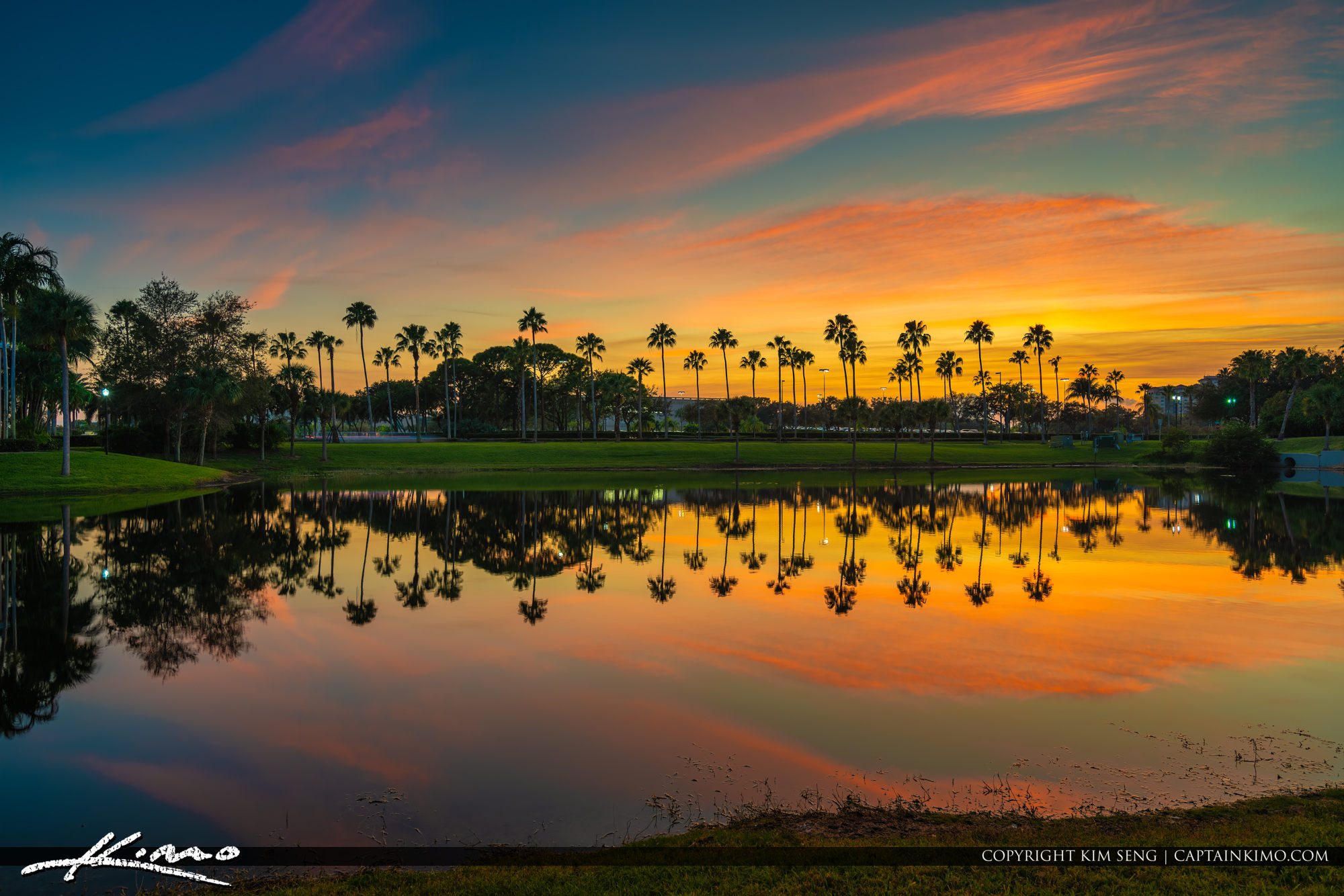 Palm Beach Gardens Sunset December 2019