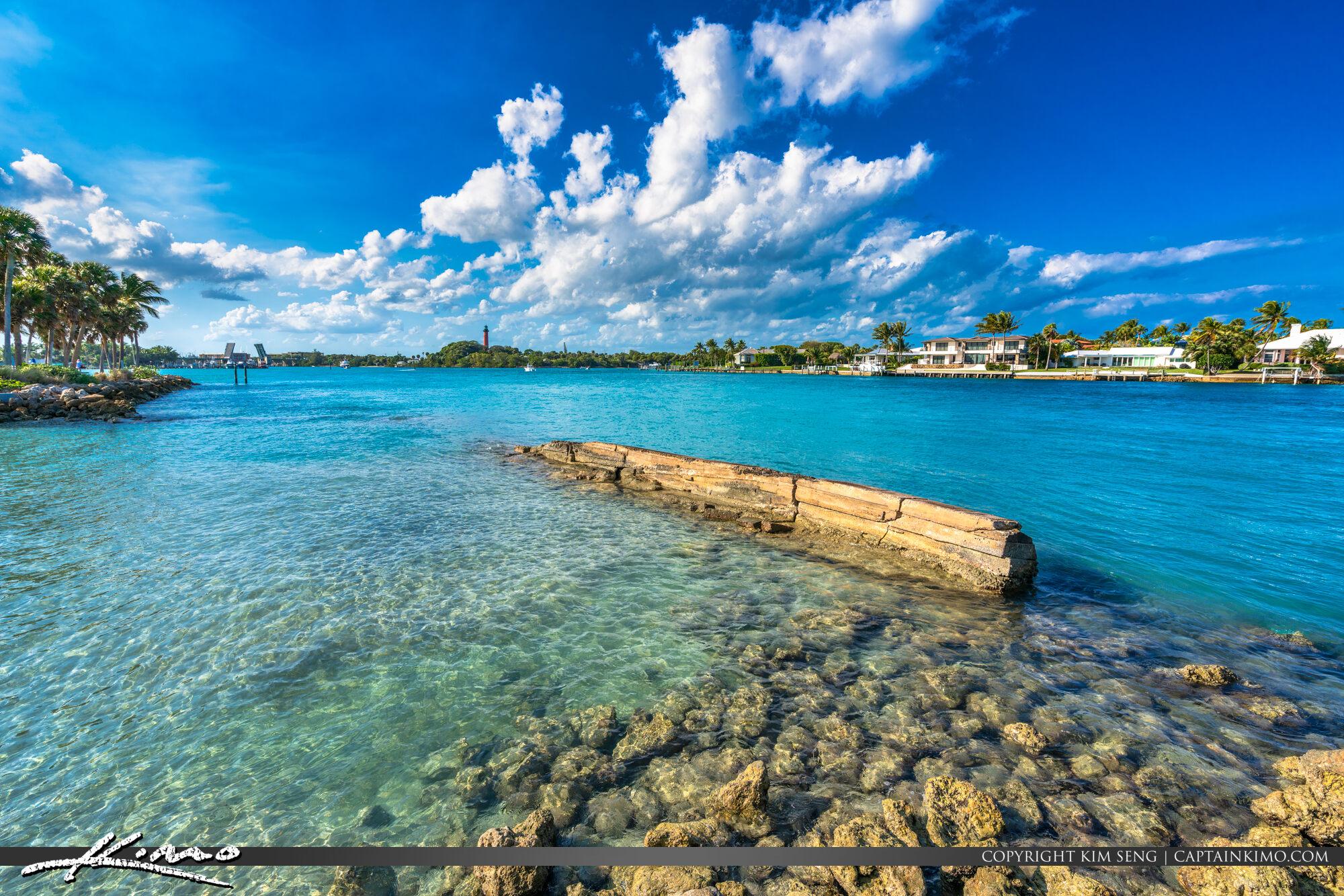 Clear Blue Water Dubois Park Jupiter Florida Palm Beach County