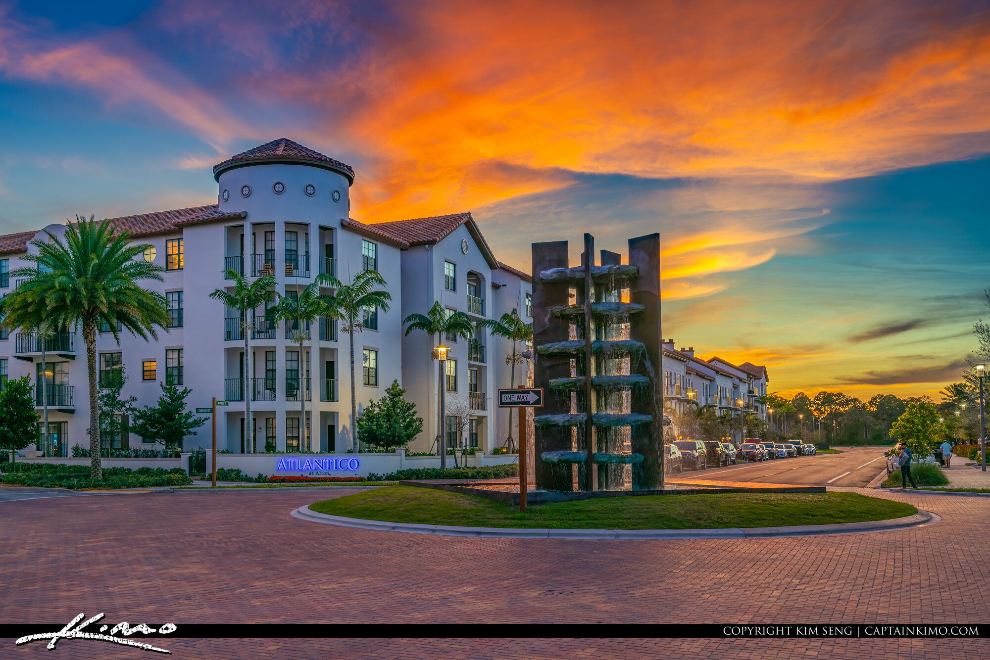 Atlantico at Alton Palm Beach Gardens Sunset Florida