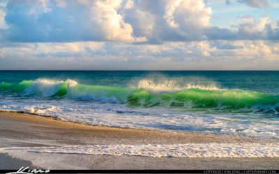 Wave Break Atlantic Ocean Juno Beach Florida