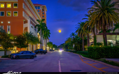 Alhambra Plaza Downtown Coral Gables Moon Rise