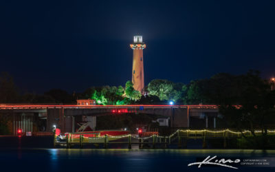 Jupiter Lighthouse at the Waterway Holiday Decoration 2020