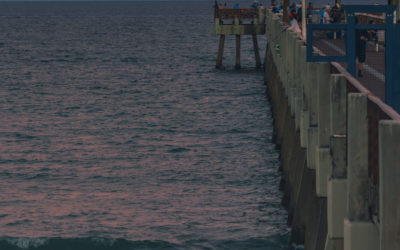 Juno Pier Moon Rise November 2020