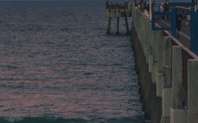 Juno Pier Moon Rise November 2020
