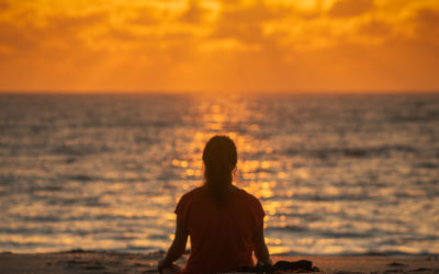 Meditation at Singer Island Beach Sunrise