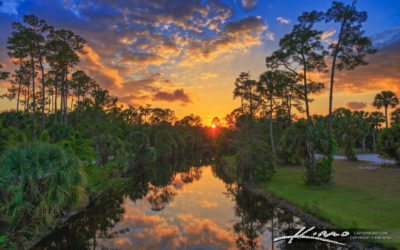 Riverbend Sunset Jupiter Florida March 22 2021