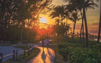 Jupiter Inlet Yellow Brick Road Sunset