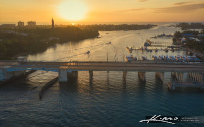 Jupiter US1 Bridge Sunrise Loxahatchee River