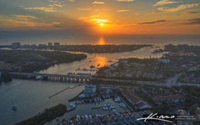 Sunrise Over Jupiter Florida Along the Loxahatchee River