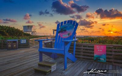 Big Beach Chair Sunrise Jensen Beach Martin County