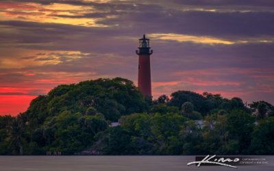 Jupiter Lighthouse from Dubois Park June 7 2021