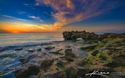 Coral Cove Sunrise at the Coral Rocks Jupiter Island