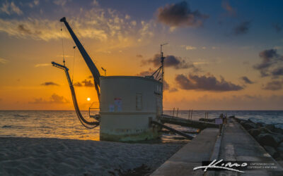 Palm Beach Inlet Pump House Sunrise Eastern Most Point