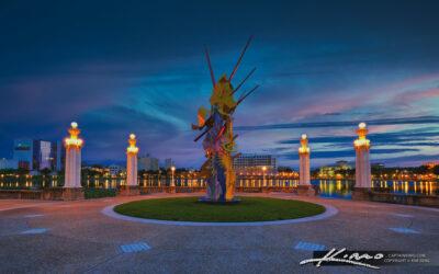 Frances Langford Promenade Lakeland Florida Downtown