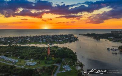 Sunrise Jupiter Lighthouse and Inlet